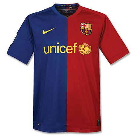 Das Trikot des FC Barcelona für die Saison 2008/2009