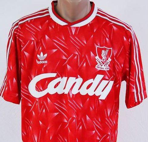 Eines der geilsten weil krassesten Trikot des FC Liverpool ist das Trikot  aus der Saison 1989 90 – einer Saison als Leute wie John Aldridge, ... 033f8a582c