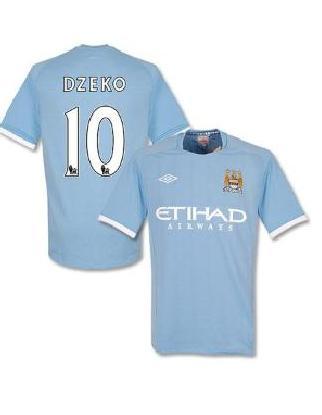 Das Manchester City Trikot von Edin Dzeko