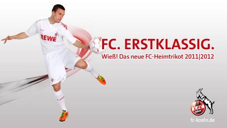 ... , heute vorgestellt: das neue Trikot des 1. FC Köln für 2012