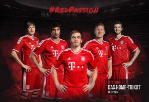 neues Bayern Trikot
