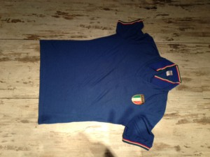 Italien Trikot WM 1982 matchworn