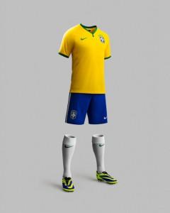 Brasilien 2014 Trikot NIke