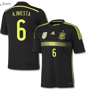 Spainien_Away_Trikot_2014___A__Iniesta_6_-_Neuheiten_-_Subside_Sports