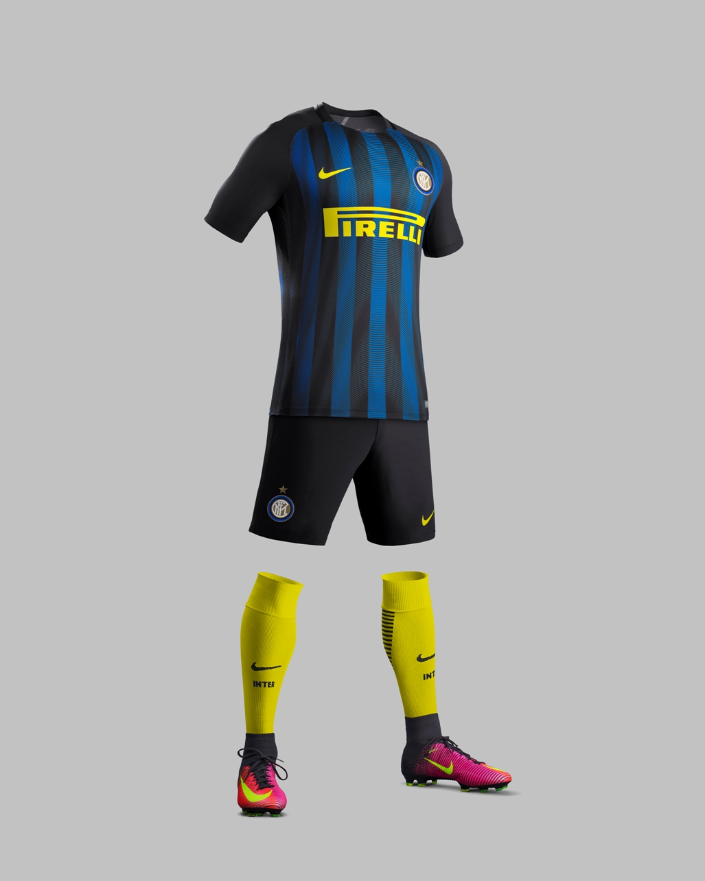 Inter Mailand stellt neues Trikot 2016/17 vor